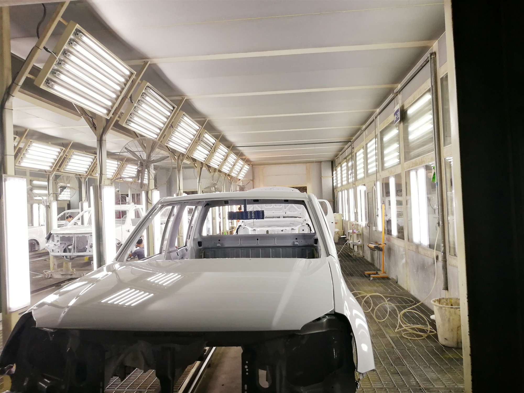 陕西汽车涂装生产线