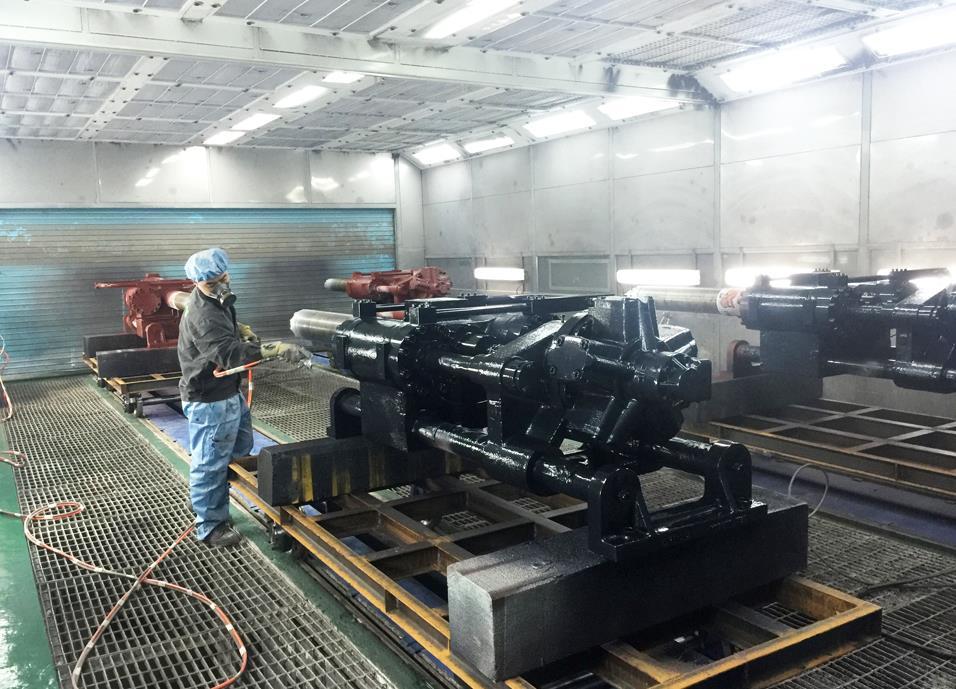 陕西机械喷漆设备